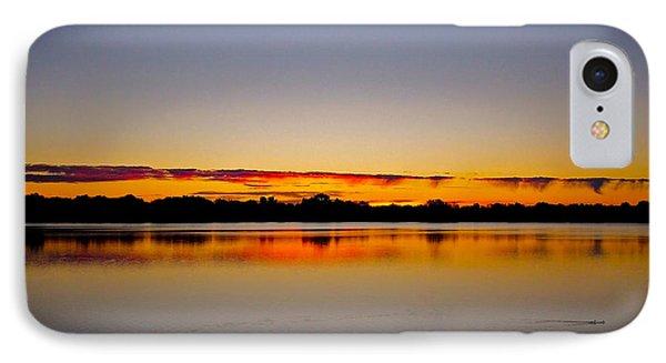 Sunrise On Riviere Des Mille-iles Phone Case by Juergen Weiss