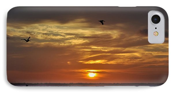 Sunrise On Tampa Bay Phone Case by Bill Cannon