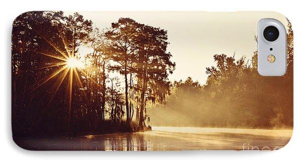 Sunrise On The Bayou Phone Case by Scott Pellegrin
