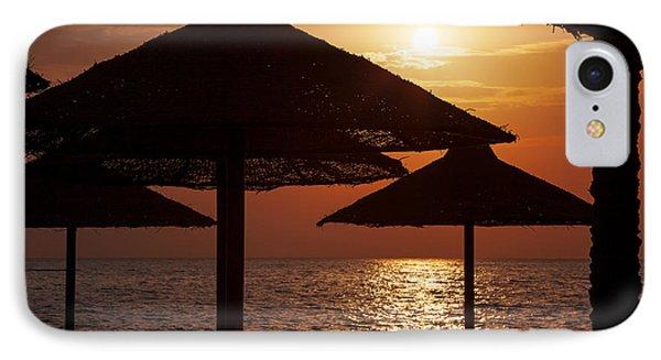 Sunrise On The Beach Phone Case by Jane Rix