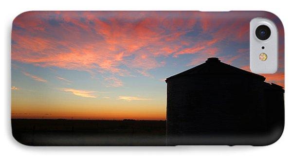 Sunrise On The Farm IPhone Case