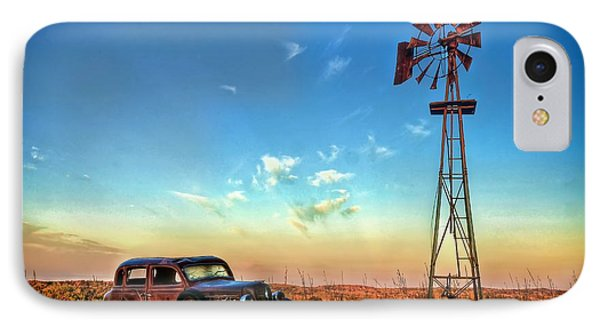 IPhone Case featuring the photograph Sunrise On The Farm by Ken Smith