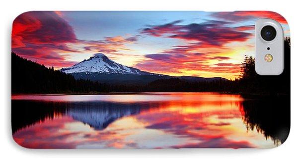 Sunrise On The Lake IPhone 7 Case