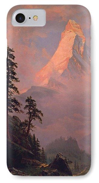 Sunrise On The Matterhorn IPhone Case