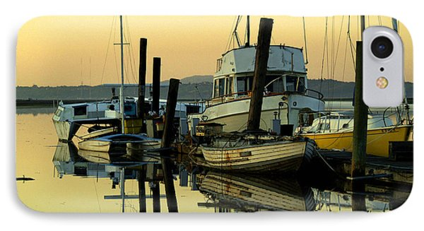 Sunrise On The Petaluma River Phone Case by Bill Gallagher