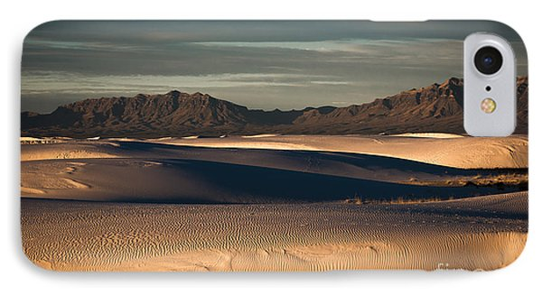 IPhone Case featuring the photograph Sunrise On The Dunes by Sherry Davis