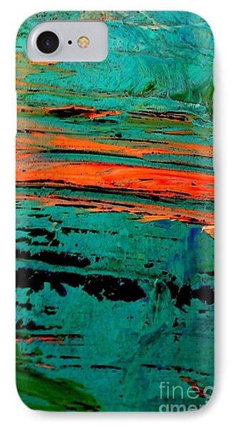 IPhone Case featuring the painting Sunrise On The Water by Jacqueline McReynolds
