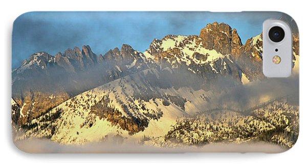 Sunrise On Thompson Peak IPhone Case