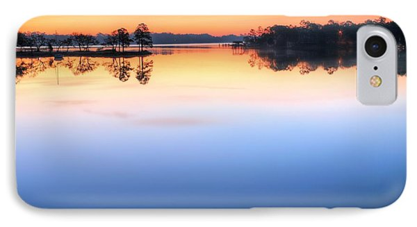 Sunrise On Toms Bayou Valparaiso IPhone Case by JC Findley