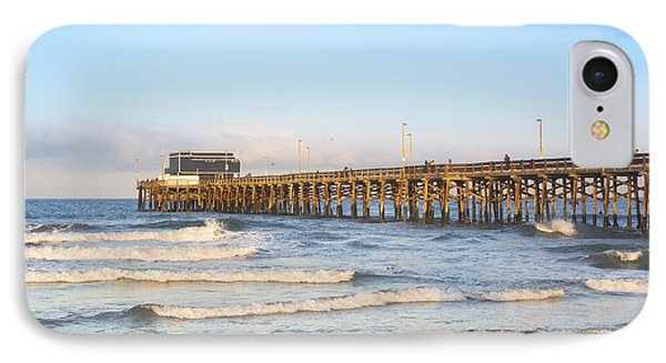 Sunrise Over Balboa Pier IPhone Case