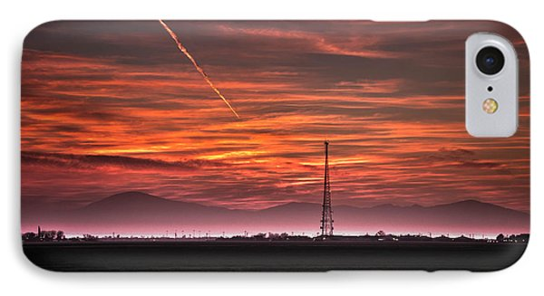 Sunrise Over Bear Mountain Phone Case by Connie Cooper-Edwards
