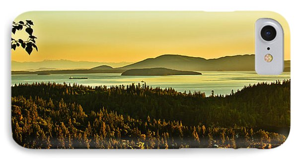 Sunrise Over Bellingham Bay IPhone Case by Robert Bales