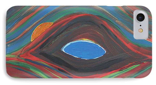 Sunrise Over Blue Ridge Mountain Lake IPhone Case by Robert Yaeger