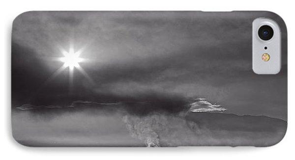 Sunrise Over Burning Sugar Cane Fields Maui Hawaii IPhone Case