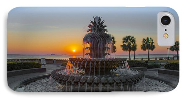 Sunrise Over Charleston Phone Case by Dale Powell