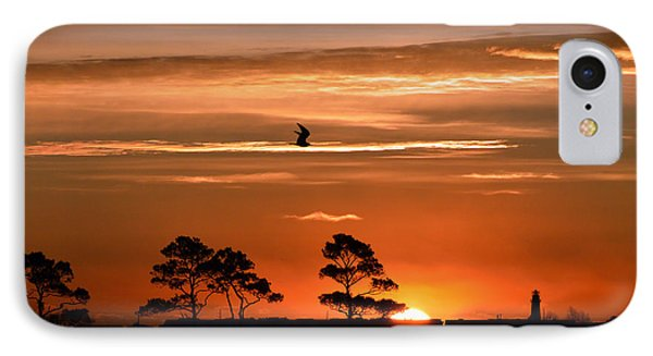 Sunrise Over Fenwick Island IPhone Case by Bill Swartwout