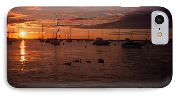 Sunrise Over Lake Michigan IPhone Case