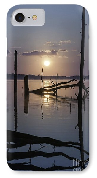 Sunrise Over Manasquan Reservoir IPhone Case by Debra Fedchin