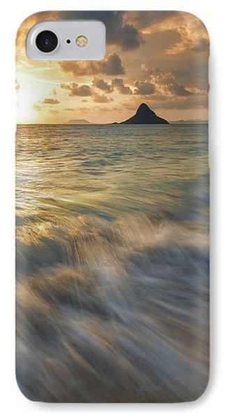 Sunrise Over Mokoli'i IPhone Case by Hawaii  Fine Art Photography
