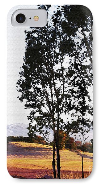 Sunrise Over Northern California Hills Phone Case by Artist and Photographer Laura Wrede