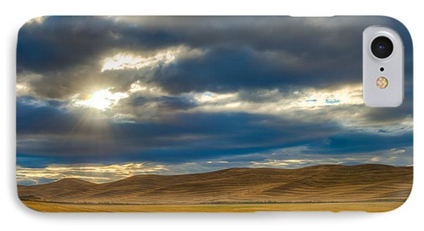 Sunrise Over Palouse Road IPhone Case by Chris McKenna