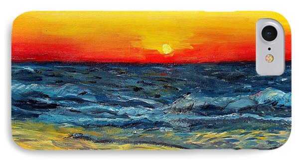 IPhone Case featuring the painting Sunrise Over Paradise by Shana Rowe Jackson