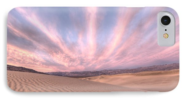 Sunrise Over Sand Dunes IPhone Case by Juli Scalzi