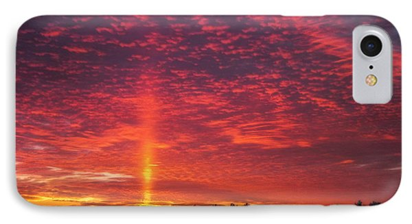 IPhone Case featuring the photograph Sunrise Over Scandinavia by Trey Foerster