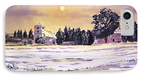 Sunrise Over St Botolph's Church IPhone Case by Bill Holkham
