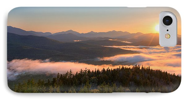 Sunrise Over The Adirondack High Peaks IPhone Case by Panoramic Images