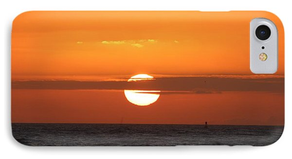 Sunrise Over The Atlantic IPhone Case by Nance Larson