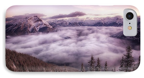 Sunrise Over The Canadian Rockies IPhone Case