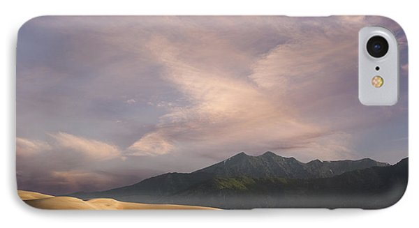 Sunrise Over The Great Sand Dunes IPhone Case by Keith Kapple