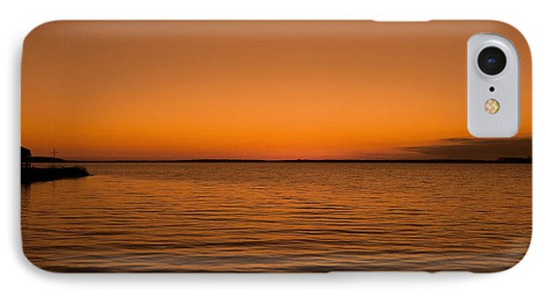 IPhone Case featuring the photograph Sunrise Over The Lake Of Two Mountains - Qc by Juergen Weiss