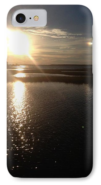 Sunset Over Ocean City IPhone Case