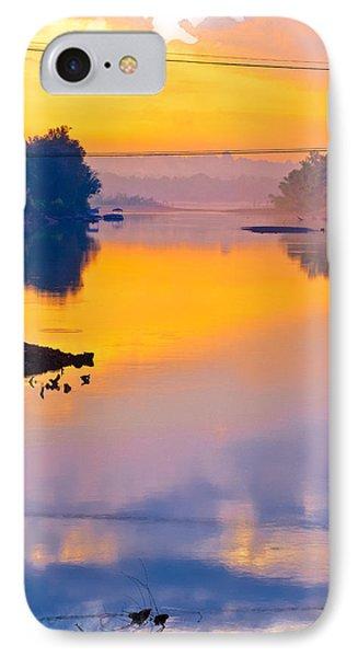 Sunrise Pier IPhone Case by Robert FERD Frank