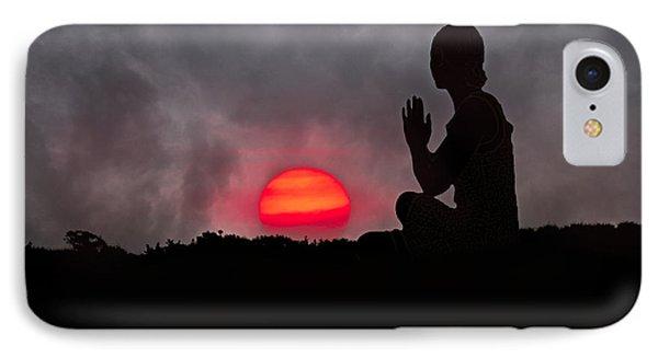 Sunrise Prayer IPhone Case by Betsy Knapp