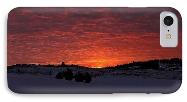 Sunrise Reflection IPhone Case by Fiskr Larsen
