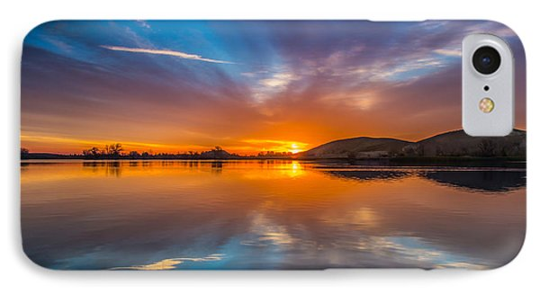 Sunrise Reflection IPhone Case by Marc Crumpler