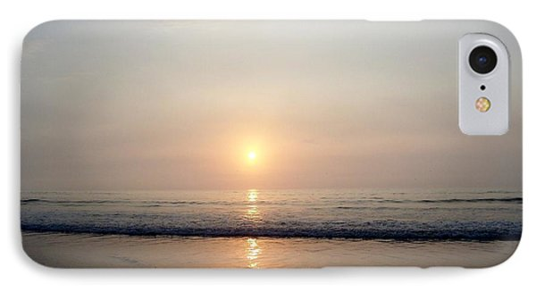 Sunrise Reflection Shines Upon The Atlantic IPhone Case by Eunice Miller