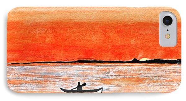 Sunrise Sail IPhone Case by Sonali Gangane
