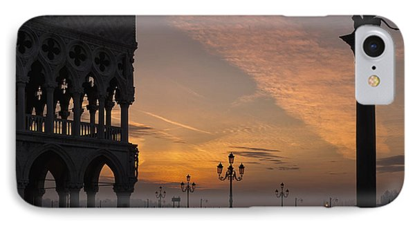 Sunrise St Mark's Square IPhone Case by Marion Galt