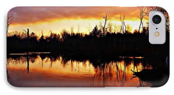 Sunrise Thanksgiving Morning IPhone Case by Joe Faherty