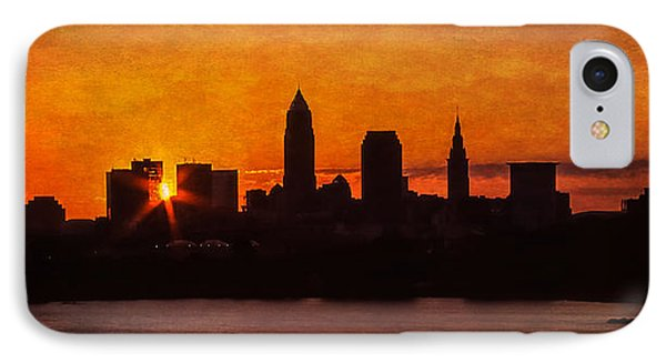 Sunrise Through The City Phone Case by Dale Kincaid