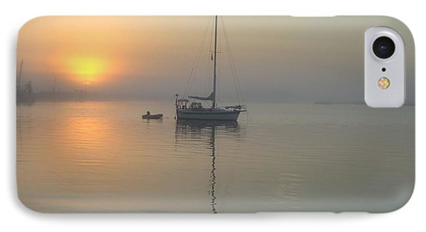 Sunrise Through The Fog IPhone Case