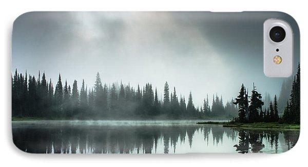 Sunrise Through The Mist Phone Case by Brian Xavier