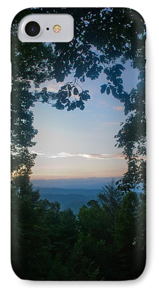 Sunrise Through The Trees IPhone Case