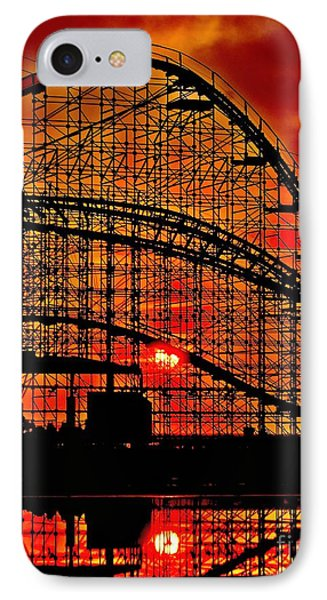 Sunrise Thru The Coaster Phone Case by Nick Zelinsky