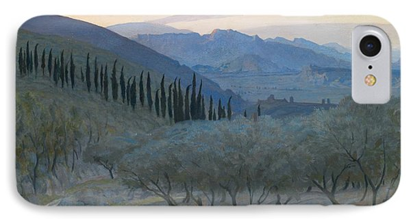 Sunrise Umbria 1914 IPhone Case by Sir William Blake Richmond