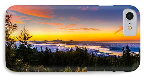 Sunrise Vancouver IPhone Case by Ian Stotesbury